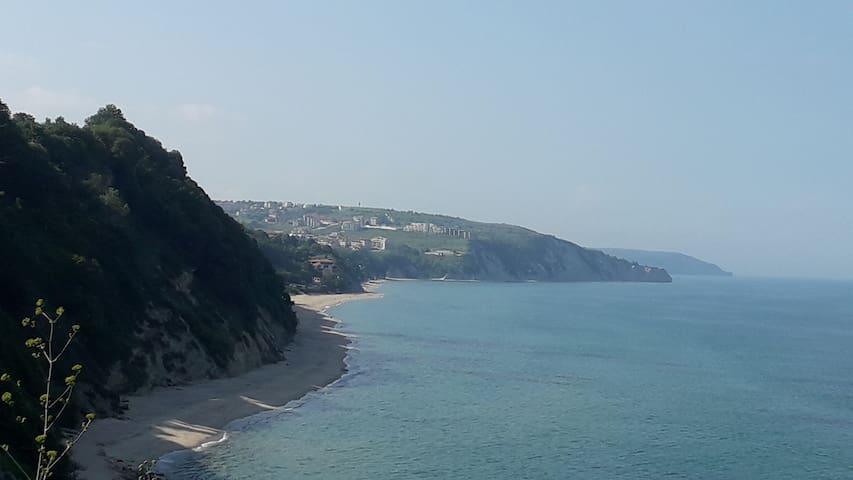 Бяла - белите брегове, сините вълни...
