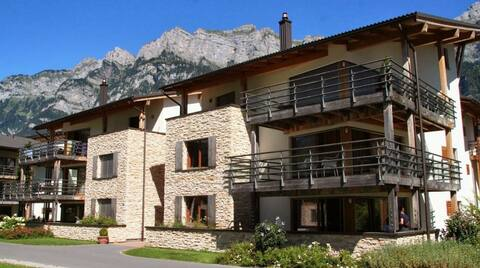 Lovely luxerious 4p apartment at the Walensee