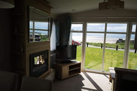 Seaside,sea view caravan Burghead.