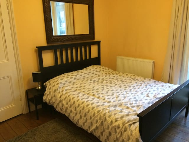 Big double room with great transport links