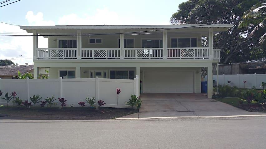4 Bedroom Summer Rental in Hauula - Hauula - Maison