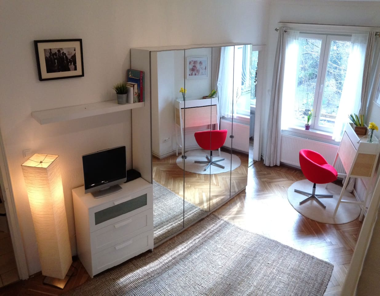 friendly flat in heart of the city