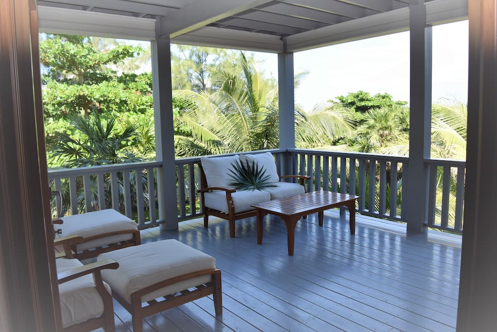 The balcony off the master bedroom is the perfect location to have your morning coffee and enjoy the breathtaking ocean view, you may even get to see the dolphins playing!!