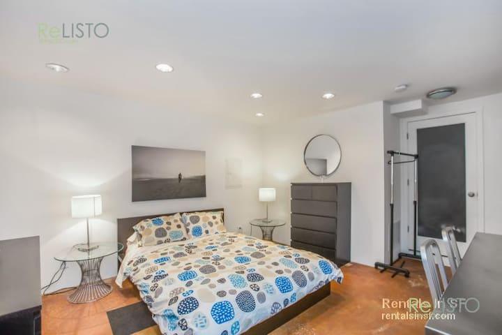 Stylish Jr. 1 bedroom  Next to Duboce Park