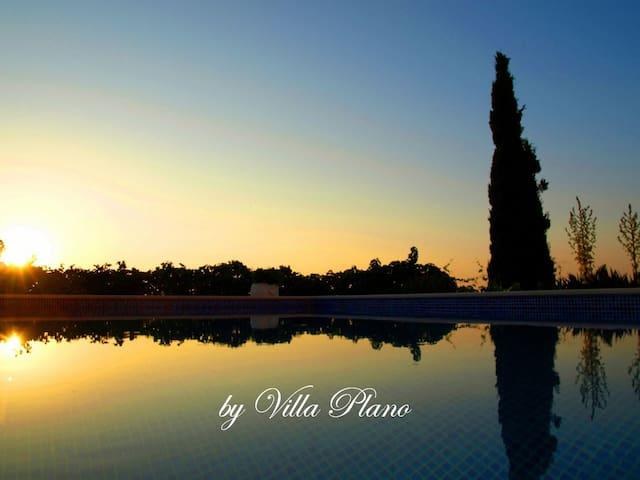 Family luxury garden villa plano, Trogir - Plano - Vila