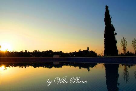 Family luxury garden villa plano, Trogir - Plano