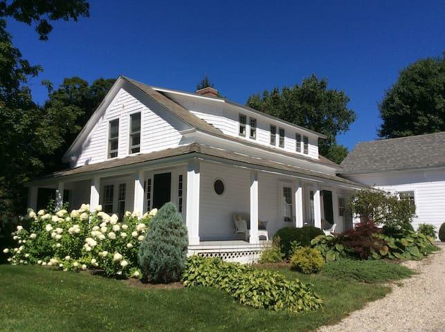 Southwest Vermont: Mount Pleasant - Sunderland - Talo