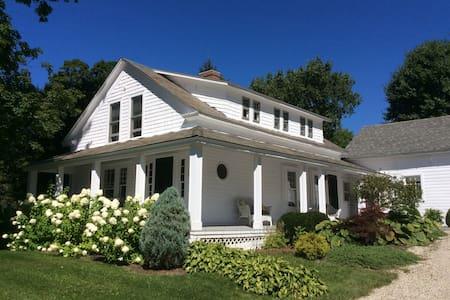 Southwest Vermont: Mount Pleasant - Sunderland - House