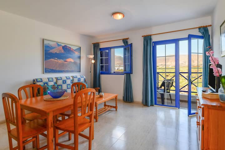 """Holiday Apartment """"Callao Beach 10"""" with Mountain View, Terrace & Wi-Fi; Pets Allowed"""