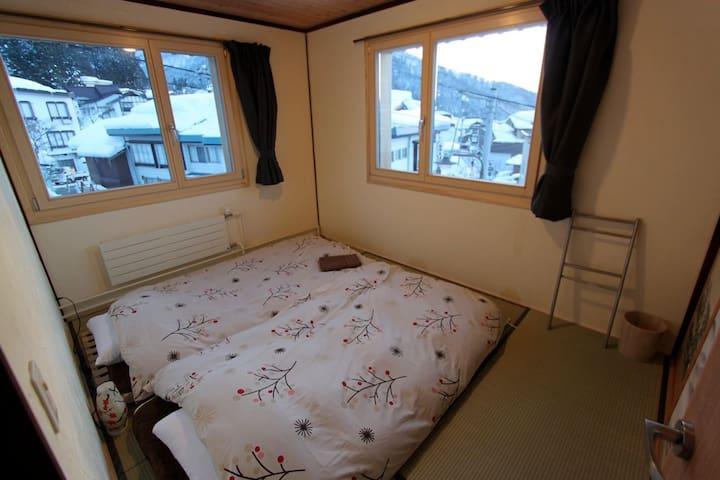 Tatami room, traditional Japanese style