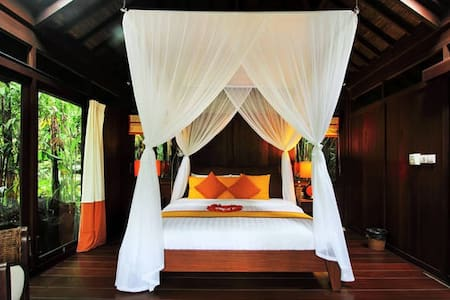 Heaven in Bali Orange Room - Payangan