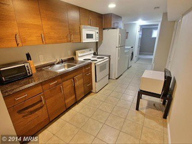Apartment Close to UMD, off I-495 - Adelphi - Apartment