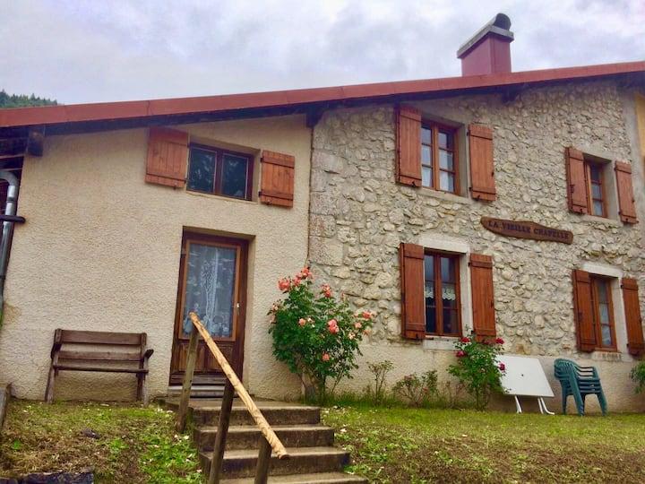 Maison jurassienne rénovée