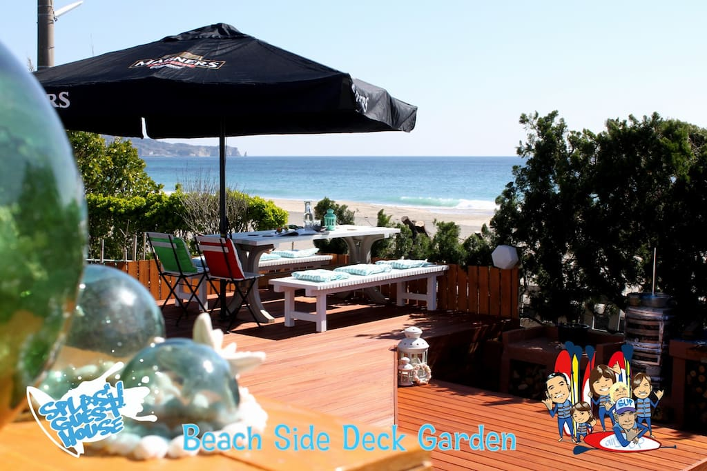 Beach Side Deck & Garden