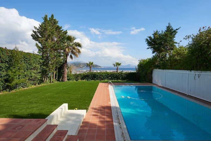"""Villa """"Eliza"""" sea front near Athens"""
