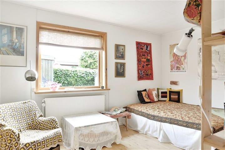 Lejlighed / halvt hus nær Århus midt i Østjylland - Hornslet - Apartment