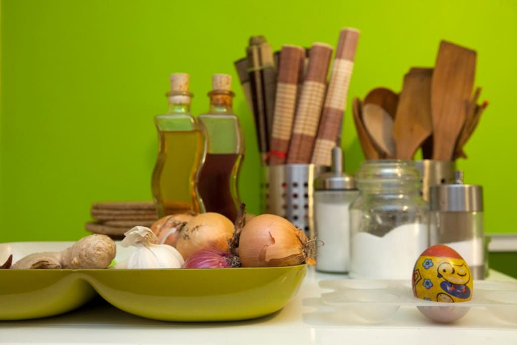 Basic ingredients for home cooking will be provided