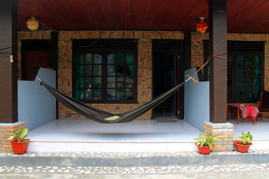 All rooms come with a hammock