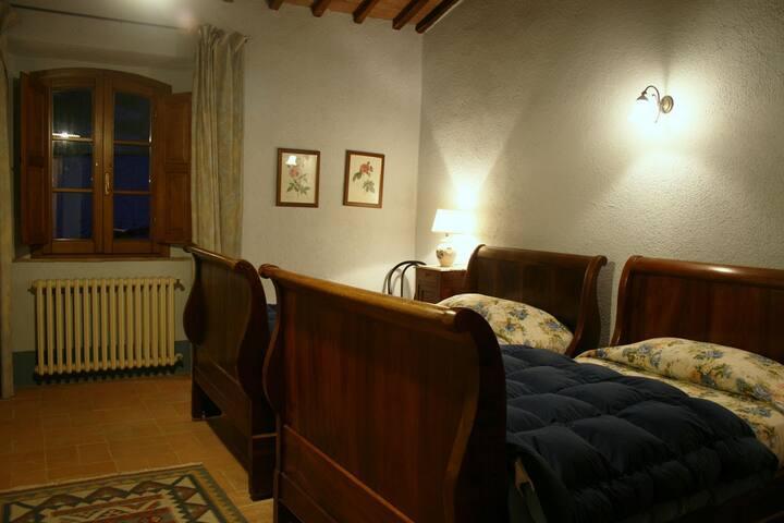 Vetrica- camera privata - San Casciano dei Bagni - Bed & Breakfast