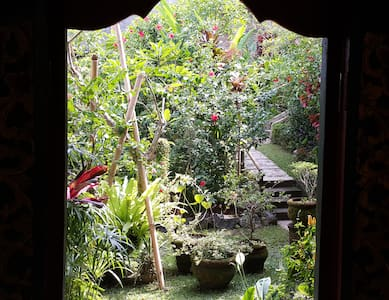 Enter a magical garden, full of tropical fruit, flowers, fishponds and statues.  Easy walking distance to everything Ubud has to offer - or let us suggest exciting day trips.   Our smiling, helpful staff are looking forward to welcoming you.