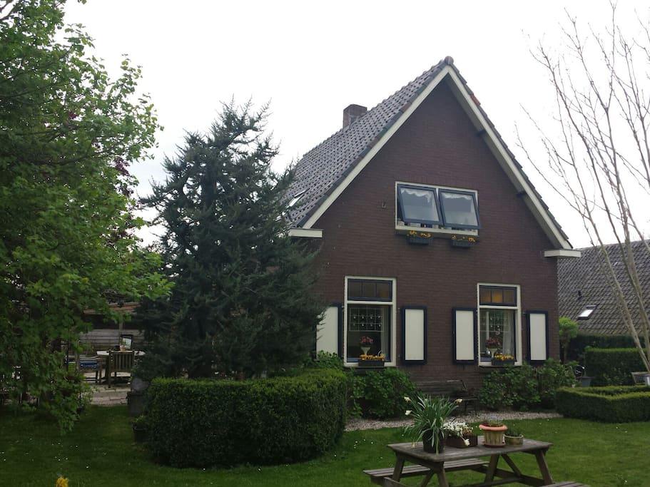 Authentiek romantisch bakhuisje bed breakfasts te huur for Te huur in gelderland