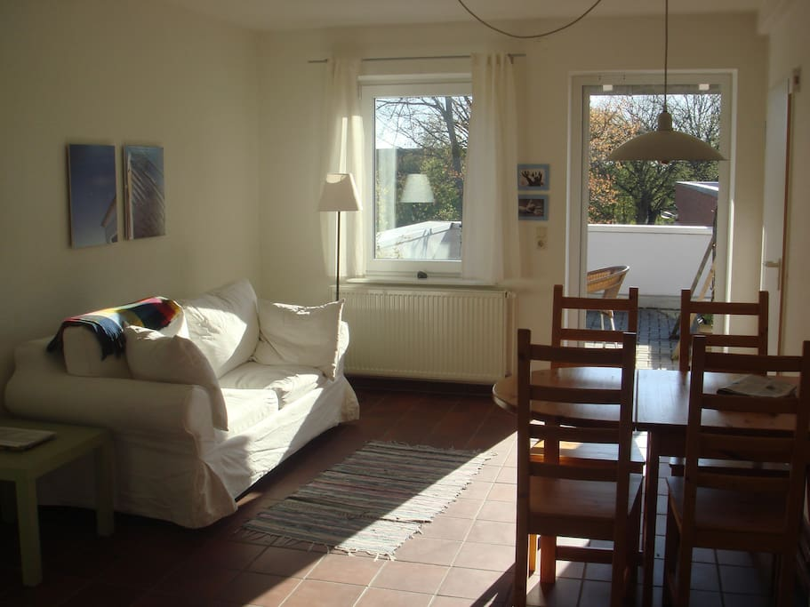 ferienwohnung mit dachterrasse wohnungen zur miete in rerik mecklenburg vorpommern deutschland. Black Bedroom Furniture Sets. Home Design Ideas