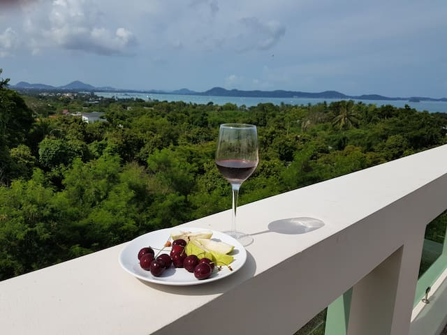 2 Bedroom Sea View Penthouse Apartment in Rawai - Phuket - Daire