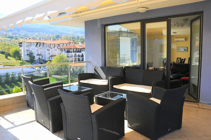 Luxury Apartment with Excellent Panoramic View - Sofia - Appartement