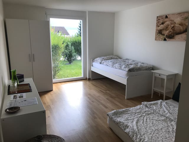 En suite room near Zurich Airport