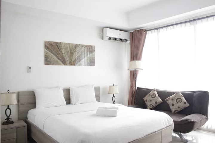 Pleasant Studio Room at Beverly Dago Apt near ITB