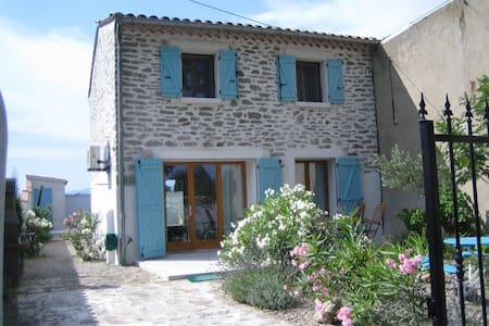 belle maison avec piscine  2-4pers - Castelnau d'Aude