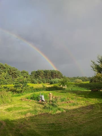 Hyggeligt Hide away - Jægerspris - Natur-Lodge