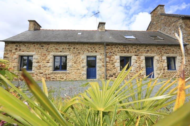 "Maison Bretonne Typique ""Le Fardo"" - Goudelin - Casa"