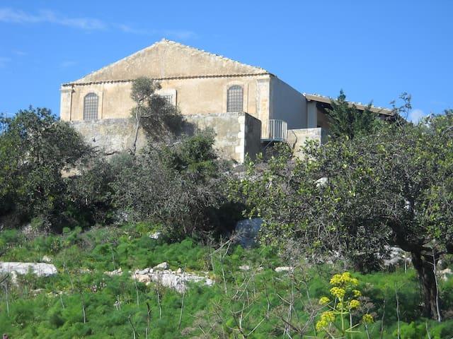 Villa con giardino vista mare - Ispica - Casa de campo