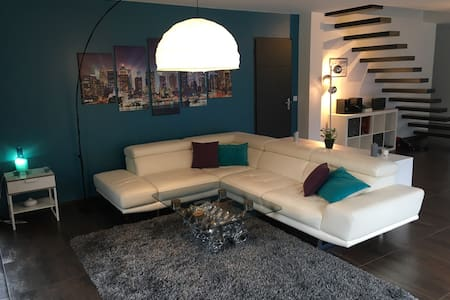 Villa Design 210m2 - village classe 30 min Paris - Montfort-l'Amaury - Villa