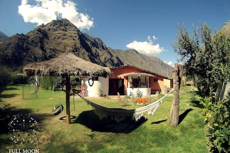 Full Moon Eco Lodge Double Room - Ollantaytambo - Penzion (B&B)