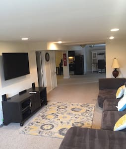 Beautiful updated walkout basement