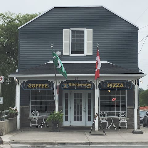 Local coffee shop - our personal favorite!