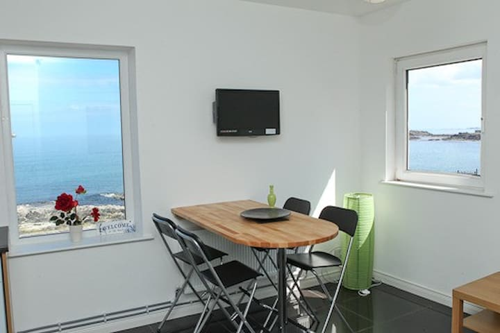Atlantic Apt: SEA VIEWS WIFI PARKING DISHWASHER - Portstewart - Daire