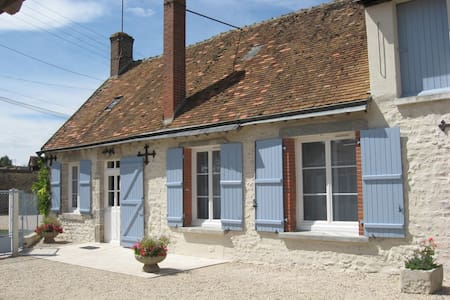 Maison Bleue-cottage near Blois - Villefrancœur - House