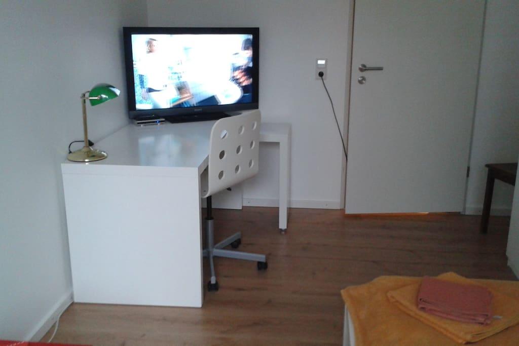 Dein Zimmer Nr. 1, aber inzwischen OHNE Fernsehgerät