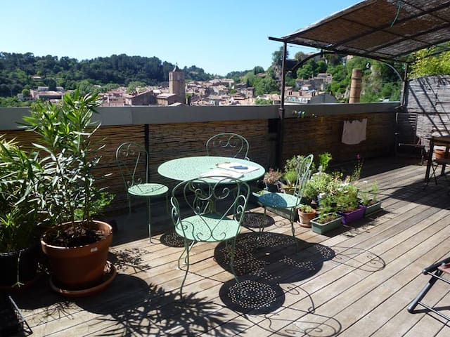 Grand loft en Provence verte. - Barjols - Loft