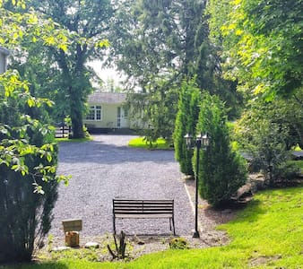 River Finn Cottage is a modern 3 Bed Chalet, Nestled in a mature Garden, in the Village of Killygordon, sleeps 7.  Set on the N15, linking the Northern Ireland border to Sligo and beyond. Easy access to The Wild Atlantic Way and beautiful Donegal.
