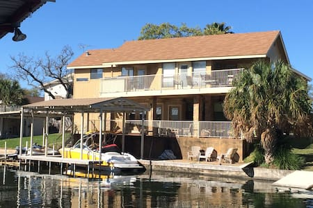 Great Family Home on Lake LBJ - Horseshoe Bay - Casa