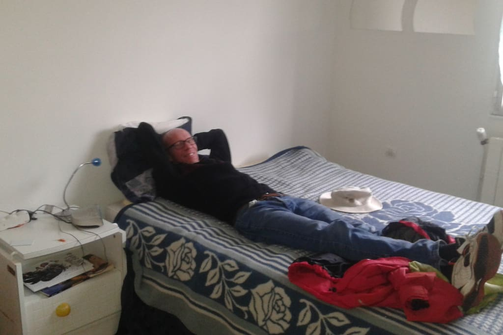 Chambre testée: elle fonctionne, on y dort bien.