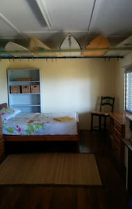 Boardshed Burleigh ocean view surfboad hire free. - 伯利岬(Burleigh Heads) - 独立屋