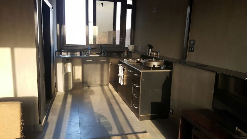 1 Bedroom in a Roof Apt,perfect location - New Cairo City - Apartment
