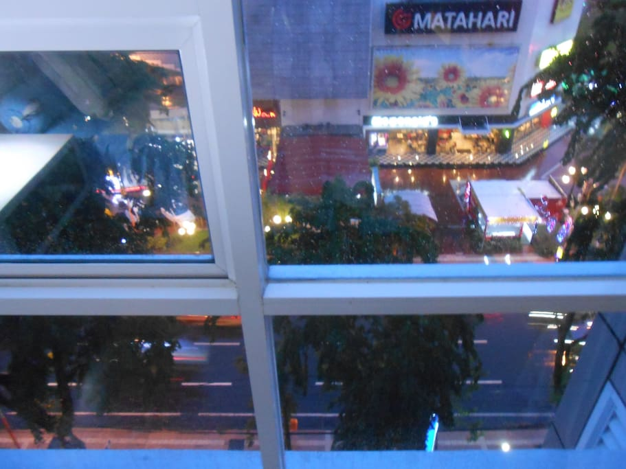 Evening view from room