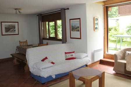 Appt 3pieces en rez de jardin - Chamonix-Mont-Blanc