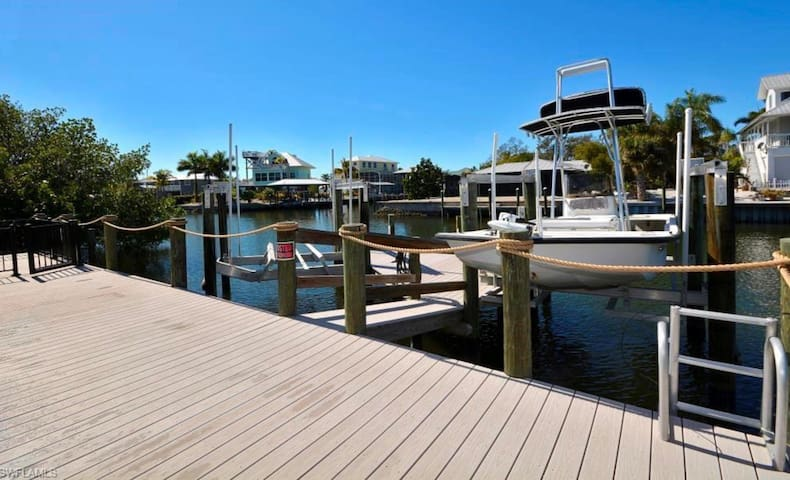 Entire house 2 boat lifts.  St James City Florida
